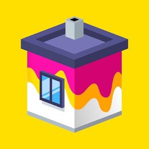 Скачать House Paint на Андроид (v1.4.2 + МОД) apk