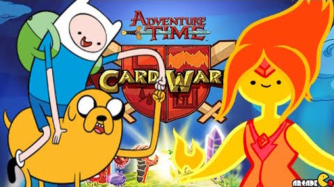 Features of Card Wars Adventure Time